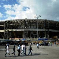Incontro a Roma tra de Magistris e De Laurentiis per il futuro del San Paolo.