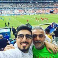 Insigne applaudito dal padre e dal fratello in tribuna: Lorenzinho ha lasciato