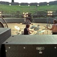 Pompei, le foto di Adrian Maben per la mostra sui Pink Floyd