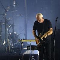Il rock di Gilmour incanta Pompei