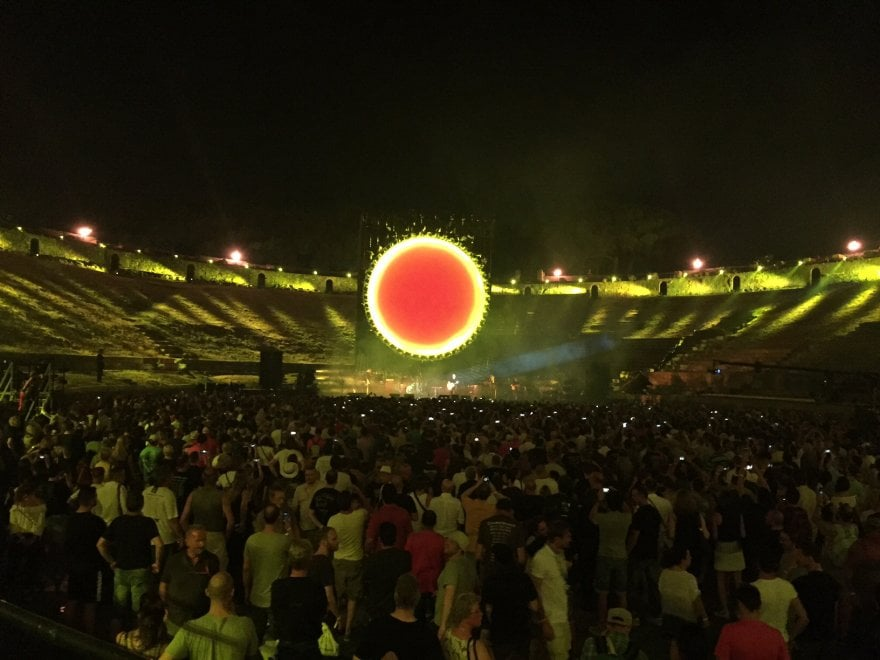 David Gilmour infiamma Pompei. Nuovo sold out all'anfiteatro