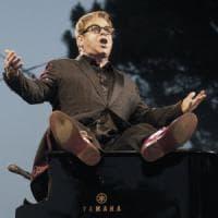 Ed ecco Sir Elton John live nell'Anfiteatro