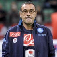 Napoli, l'imbarazzo di Sarri, cancellato l'incontro con i tifosi per non