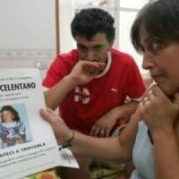 Per trovare Angela Celentano manifesti affissi in tutto il Messico