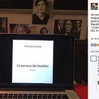 Roberto Saviano annuncia su Facebook il suo nuovo romanzo
