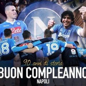 Buon compleanno Napoli, gli auguri della serie A, i messaggi di Cannavaro e Benitez