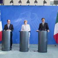 Terrorismo e Brexit, scalo a Napoli per i big d'Europa ma senza i leader europei