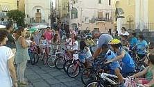 Contro il traffico  tutti i bambini in bici