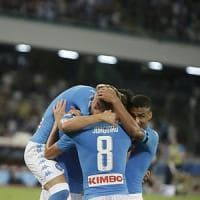 Napoli-Milan 4-2. Milik e Callejon, doppia doppietta