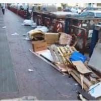 Napoli, via Diocleziano invasa dai rifiuti. Il presidente della X Municpalità,