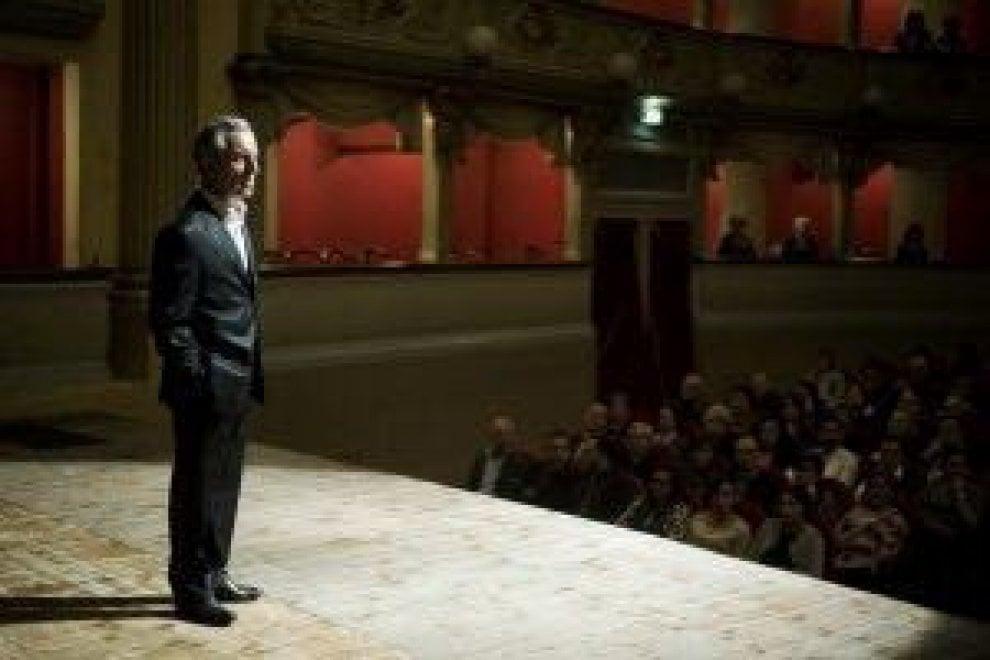 """""""La smorfia"""" di Palamara alla Mostra del Cinema a Venezia"""
