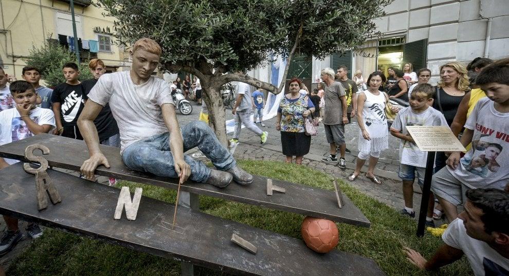 Una statua per Genny Cesarano, vittima innocente della camorra al Rione Sanità