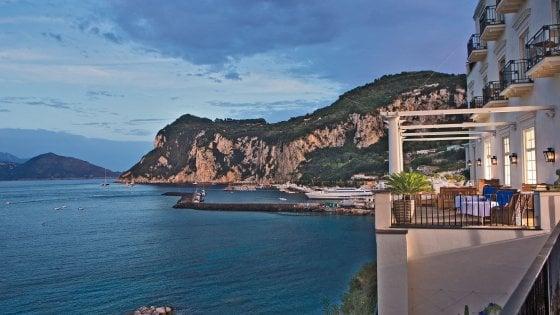 Capri, nozze romantiche per la ministra Lorenzin