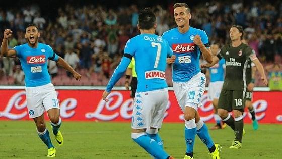 Napoli, i bookmakers credono nella vittoria degli azzurri 'pagata' 1,35. Il successo del Palermo di De Zerbi è quotato a 9