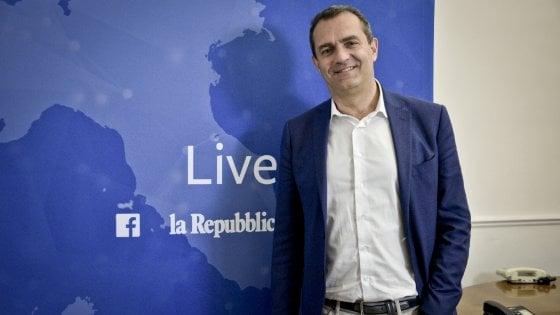 Live con il sindaco de Magistris sulla pagina Facebook di Repubblica Napoli