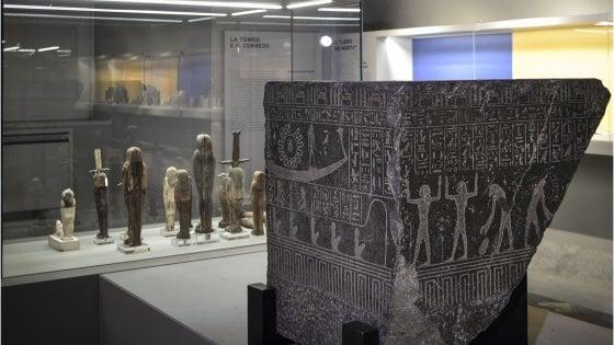 Alla scoperta dei faraoni, il Museo archeologico di Napoli riapre la sezione Egizia