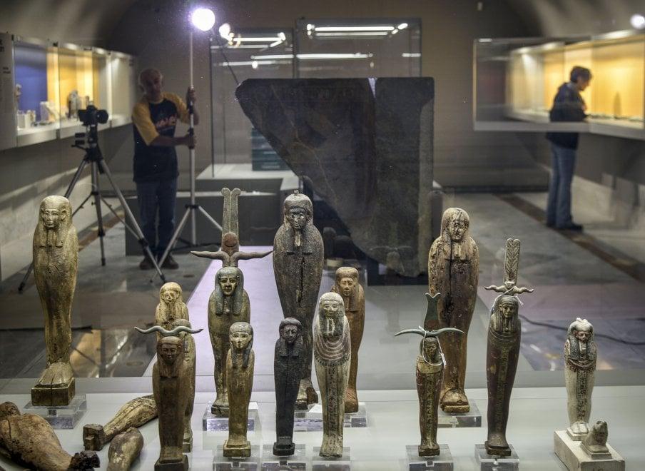 Al Museo archeologico di Napoli tornano i faraoni