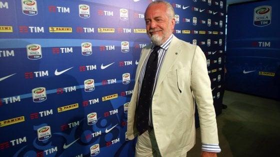 """De Laurentis bacchetta Sarri: """"Noi rispettiamo gli arbitri"""""""
