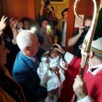 In Irpinia un intero paese in festa per la nascita del piccolo Victory: arrivato a...