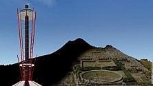 Una torre per vedere l'antica Pompei dall'alto