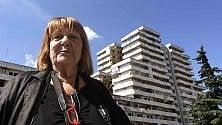 Letizia Battaglia visita  le Vele di Scampia