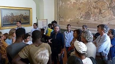Immigrati all'Archeologico, ottanta nuovi visitatori da quattro continenti   foto