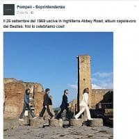 Pompei social, gli scavi conquistano il web