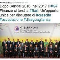 """Schiaffo a Caserta, il governo le toglie il G7 Il ministro Padoan: """"Si farà a Bari"""". Il..."""