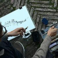Urban sketcher da tutto il mondo per illustrare le storie di Ischia