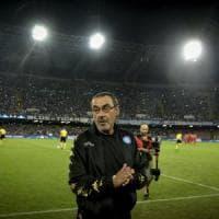 Il Napoli mette le ali, Sarri gonfia il petto: