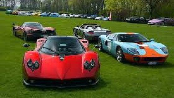"""Riardo, il 9 ottobre """"Cars and Coffee"""", raduno delle auto storiche"""