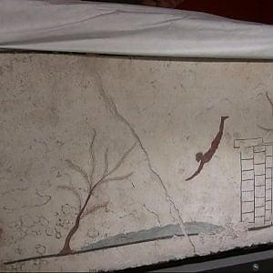 Paestum, scoperta l'identità del Tuffatore