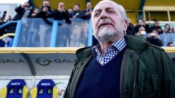 "Ciclone De Laurentiis stoccate da Londra a Higuain e alla Juve: ""Quanta ineleganza"""