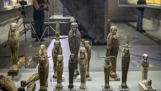 Napoli, riapre la sezione Egizia dell'Archeologico