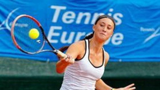 Tennis, Federica Sacco sul tetto d'Europa: vince il Master Juniores