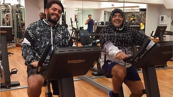 Maradona & Maradona junior: padre e figlio in una foto dopo tante incomprensioni