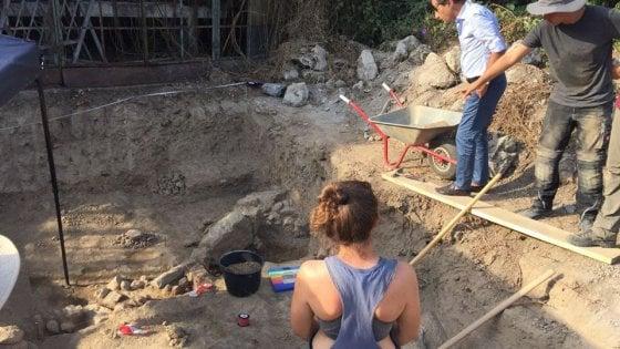 Ischia, nuovi scavi a Villa Arbusto: scoperto un muro del VI secolo avanti Cristo