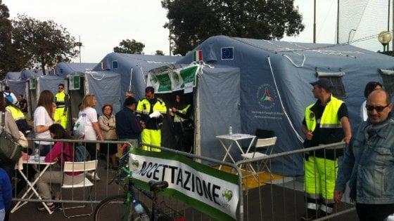 Rotonda Diaz: ecco il più grande ospedale da campo in Italia per la Settimana della prevenzione