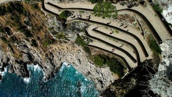 Capri: passeggiata a pagamento. L'ipotesi di una società privata per riaprire via Krupp