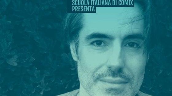 Matteo Bussola alla Scuola italiana di Comix