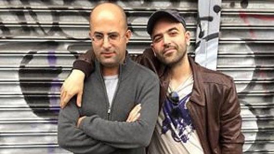 Roberto Saviano e il disegnatore israeliano Hanuka preparano una storia a fumetti