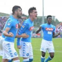 Il Napoli torna a sorridere, 2-1 al Crotone