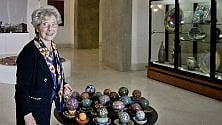 Le ceramiche di Clara Garesio a Villa Floridiana