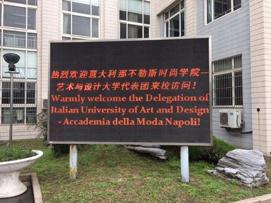Studenti napoletani e cinesi insieme per creare una nuova for Accademia moda napoli
