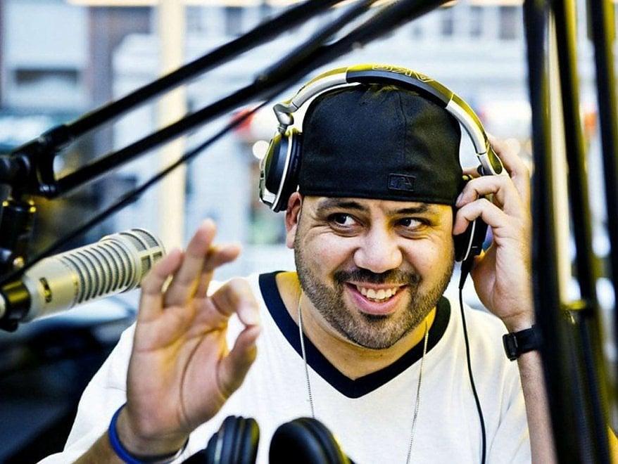 """Kenny """"Dope"""" Gonzalez allo Studio Uno di Caserta"""
