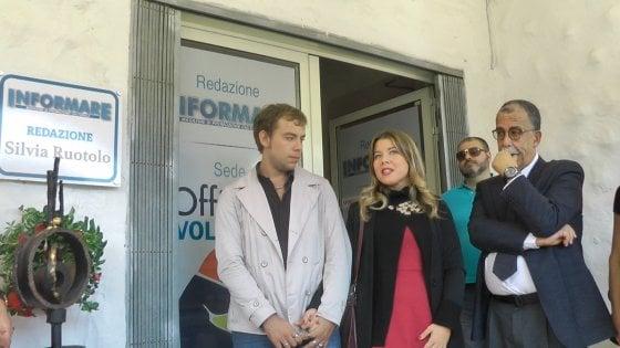 """Intitolata a Silvia Ruotolo la redazione del periodico """"Informare"""" di Castel Volturno"""