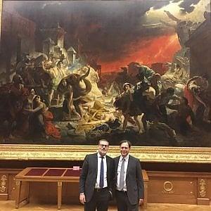 Pompei in mostra all'Ermitage e grande esposizione su Canova a Napoli