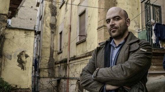 Napoli, striscione contro Saviano al rione Sanità: