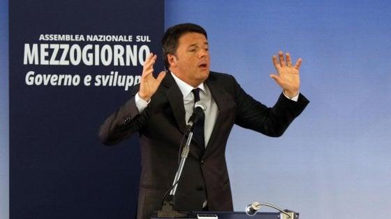 """Renzi a Napoli, tensioni. """"Referendum, occasione per fare chiarezza sul futuro del Paese. Basta raccontare un Sud pieno di sfighe"""""""
