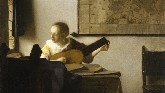 Tutto pronto a Capodimonte per la mostra di Vermeer